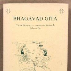 Livros em segunda mão: BHAGAVAD GITA (EDICIÓN BILINGÜE CON COMENTARIOS FINALES DE ROBERTO PLÁ). ETNOS INDICA 1997.. Lote 247207760