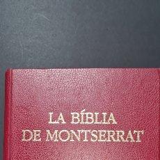 Libros de segunda mano: LA BIBLIA DE MONTSERRAT. 5 EDICIO. EDITORIAL CASAL I VALL S. A. Lote 247370245