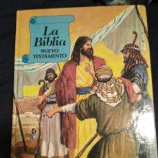 Libros de segunda mano: LA BIBLIA ANTIGUO Y NUEVO TESTAMENTO 1987 PARA NIÑOS. Lote 247815220