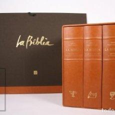 Libros de segunda mano: LIBROS Y LÁMINAS - LA BÍBLIA - ILUS. PERICO PASTOR - ED. ENCICLOPEDIA CATALANA - AÑO 2007 1ª ED #FLA. Lote 248741805