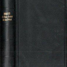 Libros de segunda mano: OBRAS DE SAN JUAN DE LA CRUZ (APOSTOLADO DE LA PRENSA, 1948). Lote 248776165