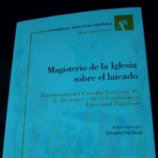 Libros de segunda mano: MAGISTERIO DE LA IGLESIA SOBRE EL LAICADO. Lote 251174285