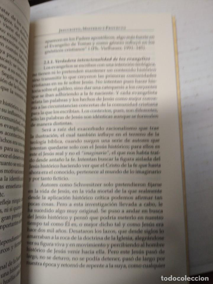 Libros de segunda mano: Jesucristo misterio y proyecto. Sebastián Berdonces Lara. - Foto 5 - 251922495