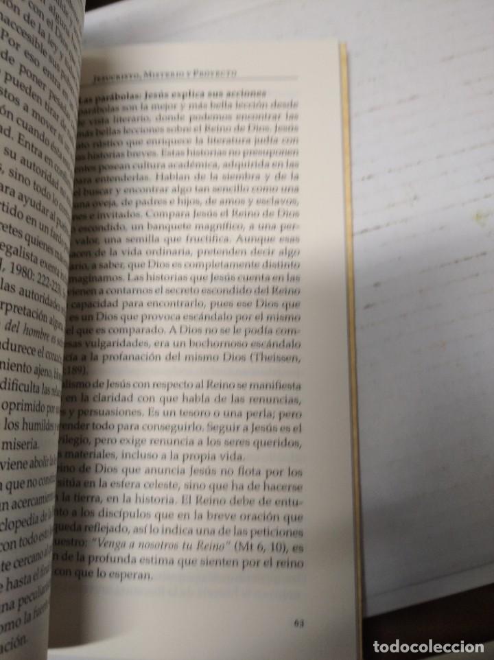 Libros de segunda mano: Jesucristo misterio y proyecto. Sebastián Berdonces Lara. - Foto 7 - 251922495