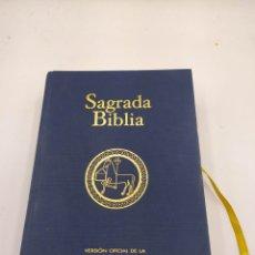 Libros de segunda mano: SAGRADA BIBLIA VERSIÓN OFICIAL DE LA CONFEDERACIÓN EPISCOPAL ESPAÑOLA BAC. Lote 252040430