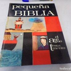 Libros de segunda mano: PEQUEÑA BIBLIA. EL ANTIGUO TESTAMENTO. A.M. COCAGNAC Y ROSEMARY HAUGHTON. Lote 253136090