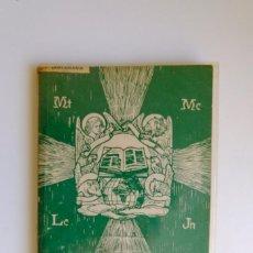 Libros de segunda mano: EVANGELIOS CONCORDADOS. VIDA DE CRISTO. P. BUENAVENTURA DE SANTAMARÍA. 1968.. Lote 254260945