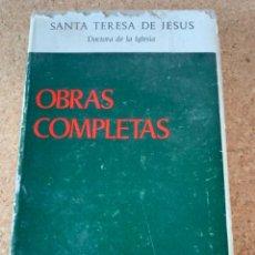 Libros de segunda mano: OBRAS COMPLETAS DE SANTA TERESA DE JESÚS (BOLS, 5). Lote 254389905