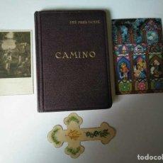Libros de segunda mano: LIBRO CAMINO - JOSE MARIA ESCRIVÁ DE BALAGUER. TERCERA EDICION 1945 EDITORIAL MINERVA.. Lote 254424610