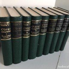 Libros de segunda mano: OBRAS COMPLETAS DEL P. ALFONSO TORRES. ED. PREPARADA POR EL PADRE CARLOS CARRILLO DE ALBORNOZ. 1967. Lote 240144230