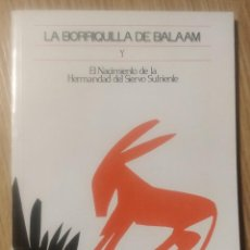 Libros de segunda mano: LA BORRIQUILLA DE BALAM Y EL NACIMIENTO DE LA HERMANDAS DEL SIERVO SUFRIENTE. Lote 254894610