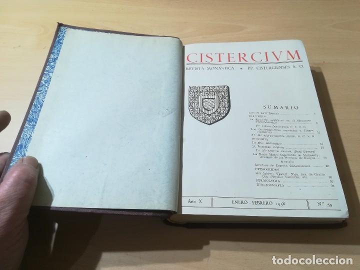 Libros de segunda mano: CISTERCIUM, REVISTA MONASTICA CISTERCIENSES / 1958 / / AG35 - Foto 6 - 254980210