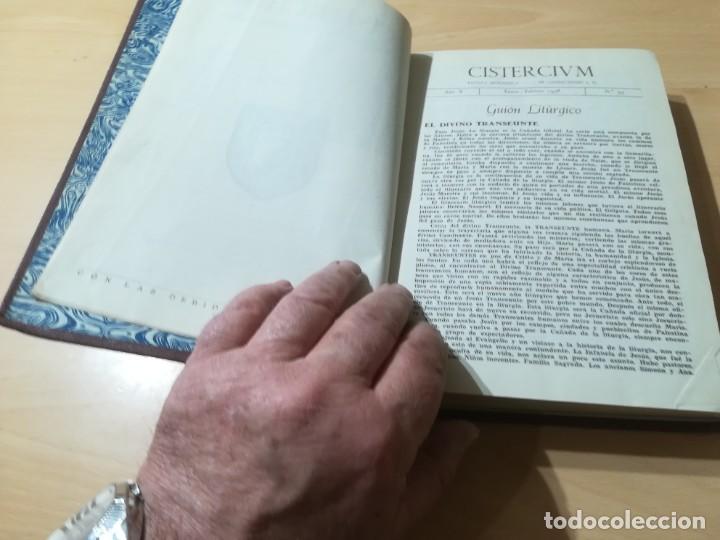 Libros de segunda mano: CISTERCIUM, REVISTA MONASTICA CISTERCIENSES / 1958 / / AG35 - Foto 8 - 254980210