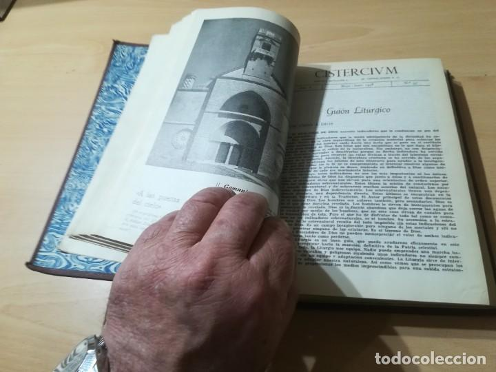 Libros de segunda mano: CISTERCIUM, REVISTA MONASTICA CISTERCIENSES / 1958 / / AG35 - Foto 12 - 254980210
