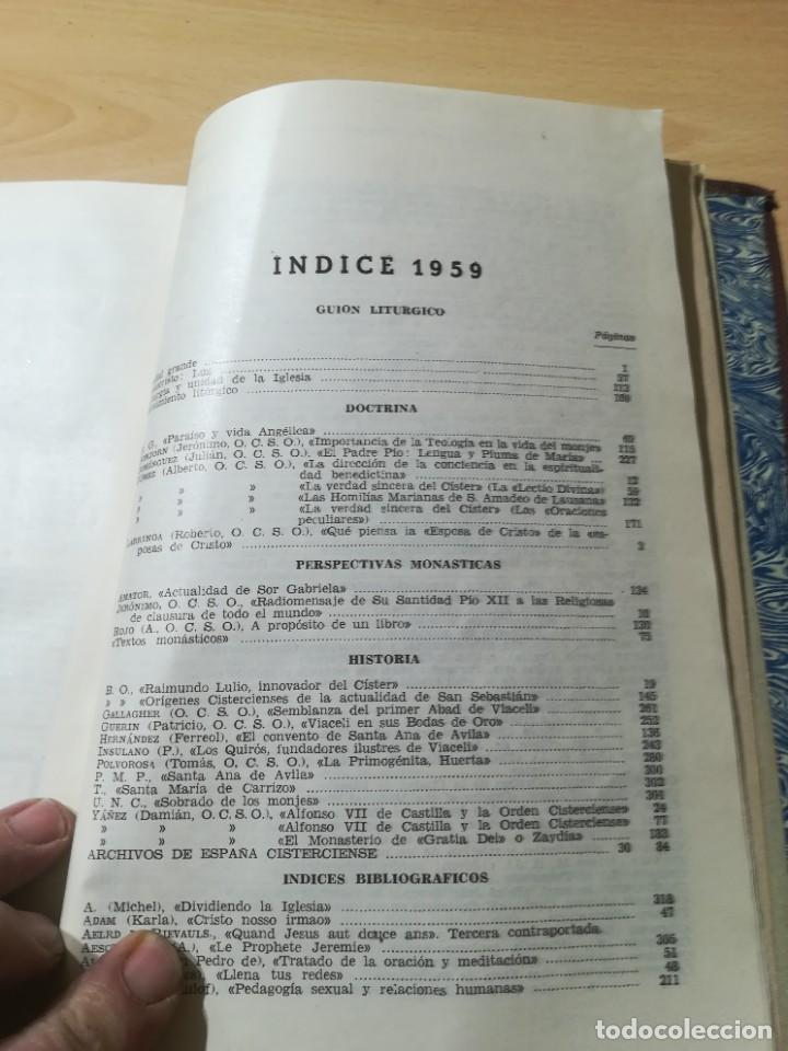 Libros de segunda mano: CISTERCIUM, REVISTA MONASTICA CISTERCIENSES / 1958 / / AG35 - Foto 22 - 254980210