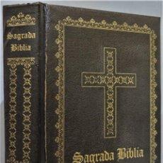 Livres d'occasion: 1950.- LA SAGRADA BIBLIA. TORRES AMAT. GUADALUPANA. Lote 255003470