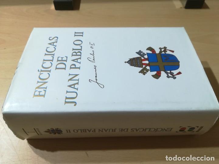 ENCICLICAS DE JUAN PABLO II / J A MARTINEZ PUCHE / EDIBESA / AG64 (Libros de Segunda Mano - Religión)