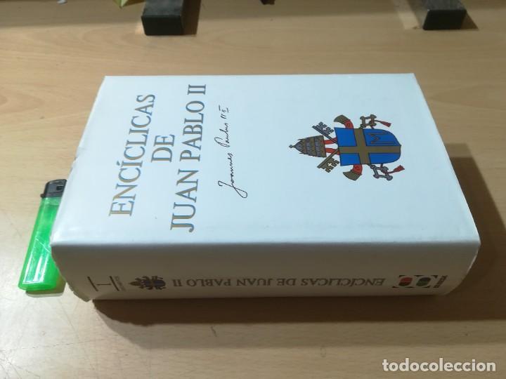 Libros de segunda mano: ENCICLICAS DE JUAN PABLO II / J A MARTINEZ PUCHE / EDIBESA / AG64 - Foto 2 - 255003515
