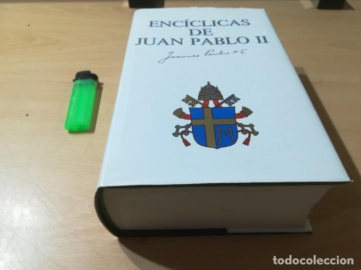 Libros de segunda mano: ENCICLICAS DE JUAN PABLO II / J A MARTINEZ PUCHE / EDIBESA / AG64 - Foto 3 - 255003515