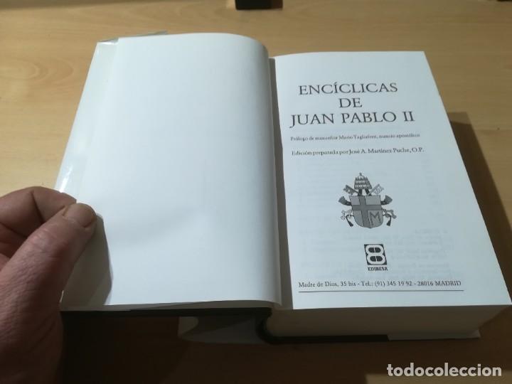 Libros de segunda mano: ENCICLICAS DE JUAN PABLO II / J A MARTINEZ PUCHE / EDIBESA / AG64 - Foto 6 - 255003515
