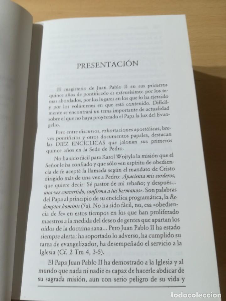 Libros de segunda mano: ENCICLICAS DE JUAN PABLO II / J A MARTINEZ PUCHE / EDIBESA / AG64 - Foto 11 - 255003515