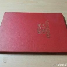 Libros de segunda mano: RITUAL DE LA PENITENCIA / VATICANO II / COMISION EPISCOPAL / AG66. Lote 255003905
