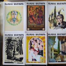 Libri di seconda mano: GLOSAS SILENSES, AÑO 2000 COMPLETO Y 2001 DE ENERO A AGOSTO. BUEN ESTADO.. Lote 257496810