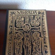 Libros de segunda mano: SAGRADA BIBLIA FAMILIAR, EDICIONES UNALI.. Lote 257740520