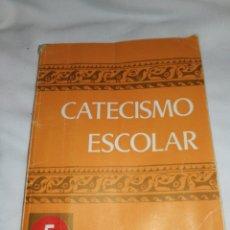 Libros de segunda mano: AÑO 1971,CATECISMO ESCOLAR, 1°EDICIÓN.. Lote 257743815