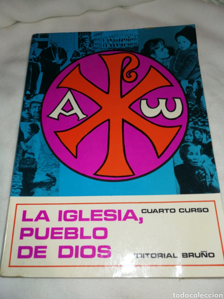 LIBRO RELIGIÓN, LA IGLESIA PUEBLO DE DIOS, AÑO 1970 (Libros de Segunda Mano - Religión)