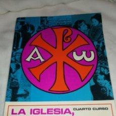 Libros de segunda mano: LIBRO RELIGIÓN, LA IGLESIA PUEBLO DE DIOS, AÑO 1970. Lote 257744920