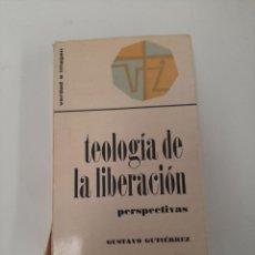 Libros de segunda mano: TEOLOGÍA DE LA LIBERACIÓN. Lote 258154375