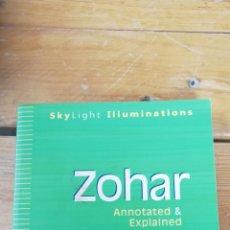 Livros em segunda mão: ZOHAR. ANNOTATED & EXPLAINED. DANIEL C. MATT. 2002. Lote 258314905
