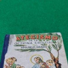 Libros de segunda mano: CATECISMO DE LA DOCTRINA CRISTIANA. SEGUNDO GRADO. EDITORIAL LA HORMIGA DE ORO. 1950.. Lote 259758625