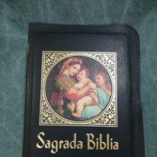 Livros em segunda mão: SAGRADA BIBLIA - DR. JUAN STRAUBINGER - LA PRENSA CATÓLICA - CHICAGO / MÉXICO. Lote 260307645