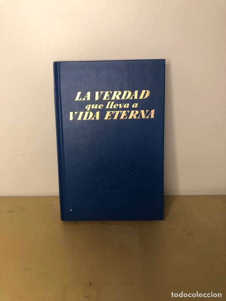 LA VERDAD QUE LLEVA A VIDA A VIDA ETERNA -INTERNATIONAL BIBLE AND TRACT SOCIRTY OF NY ,INC -1968 (Libros de Segunda Mano - Religión)