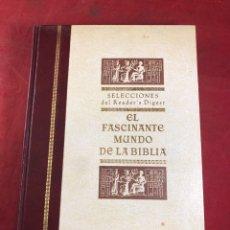 Libros de segunda mano: EL FASCINANTE MUNDO DE LA BIBLIA. Lote 261783195