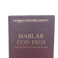 Libros de segunda mano: HABLAR CON DIOS TOMO III, TIEMPO EXT. SEMANAS I-XII - FRANCISCO FERNÁNDEZ-CARVAJAL - ED. PALABRA. Lote 262042805