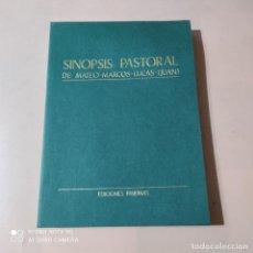Libros de segunda mano: SINOPSIS PASTORAL DE MATEO-MARCOS-LUCAS-JUAN. 1980. BERNARDO HURAULT. EDICIONES PAULINAS. 311 PAGS.. Lote 262322175