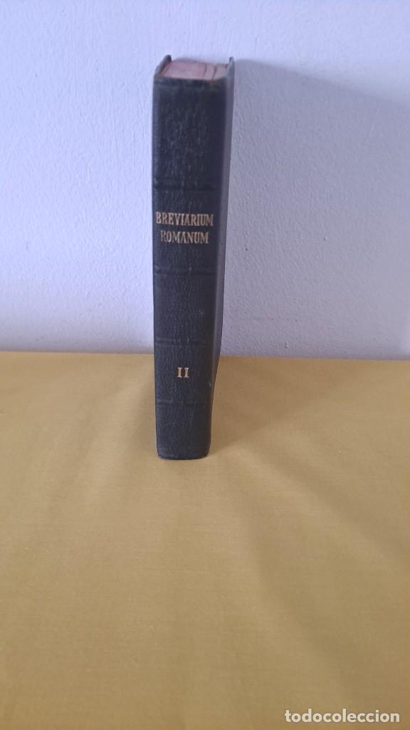 Libros de segunda mano: BREVIARIUM ROMANUM - TOMUS ALTER 1961- PRINTED IN FRANCE - Foto 6 - 262494225