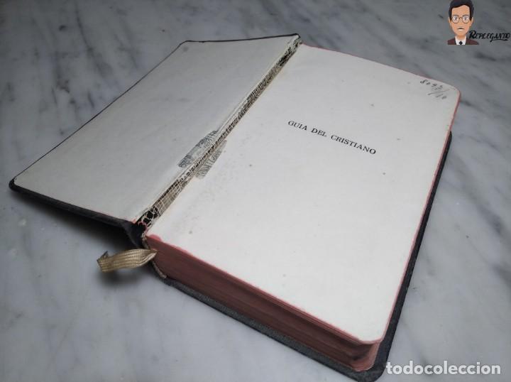 Libros de segunda mano: GUÍA DEL CRISTIANO - DEVOCIONARIO POPULAR (EDITORIIAL BALMES) BARCELONA AÑO 1944 - Foto 9 - 262586455
