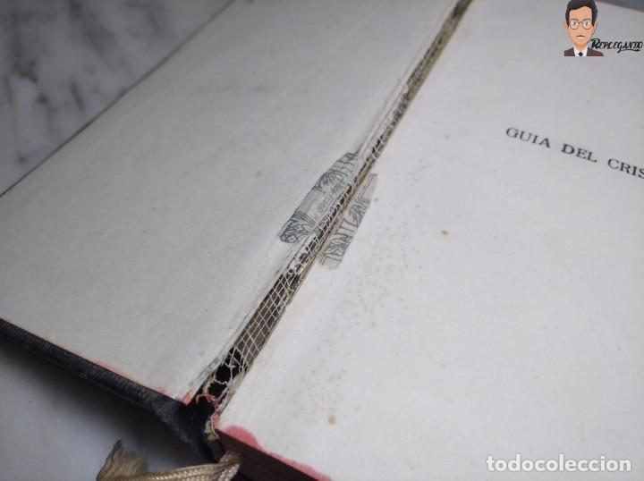 Libros de segunda mano: GUÍA DEL CRISTIANO - DEVOCIONARIO POPULAR (EDITORIIAL BALMES) BARCELONA AÑO 1944 - Foto 10 - 262586455