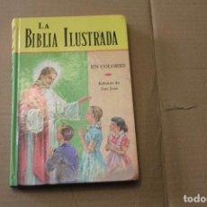 Livros em segunda mão: LA BIBLIA ILUSTRADA EN COLORES, EDICIÓN SAN JOSÉ , AÑO 1982. Lote 262603960