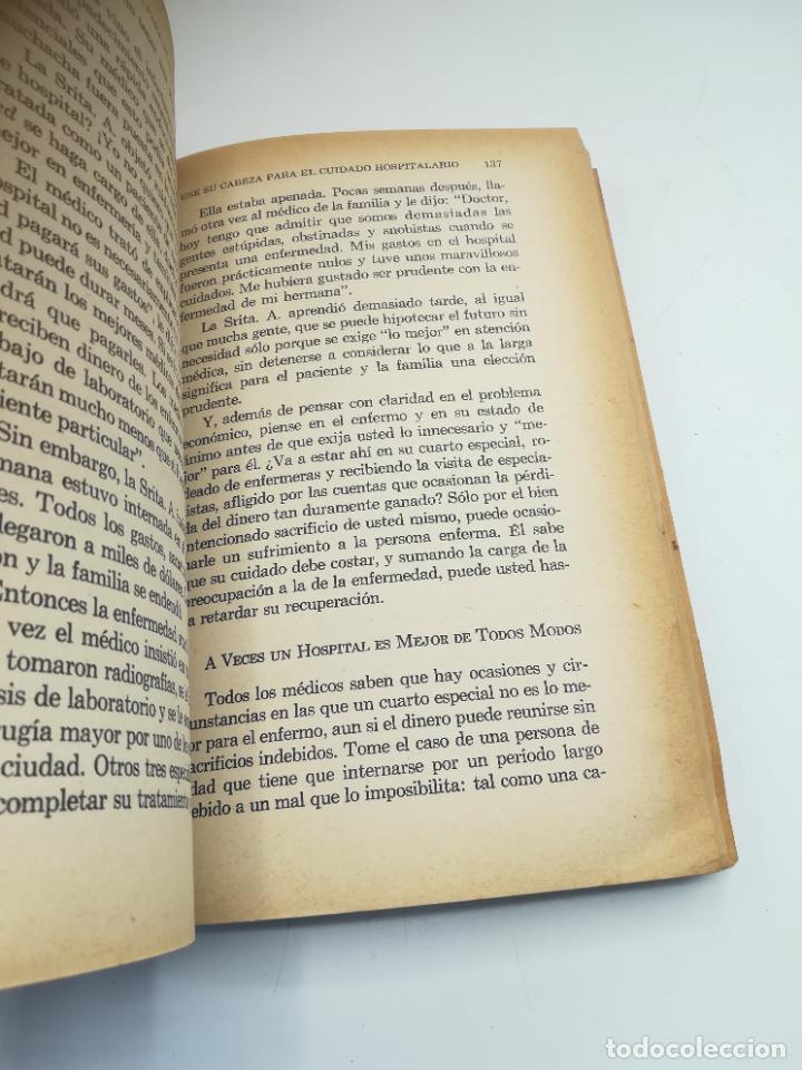 Libros de segunda mano: VIVA MAS Y MEJOR. PETER J.STEINCROHN, M.D. 1º ED 1958. COMPAÑÍA EDITORIAL CONTINENTAL. RUSTICA - Foto 4 - 262717205