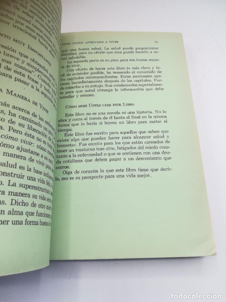 Libros de segunda mano: VIVA MAS Y MEJOR. PETER J.STEINCROHN, M.D. 1º ED 1958. COMPAÑÍA EDITORIAL CONTINENTAL. RUSTICA - Foto 6 - 262717205