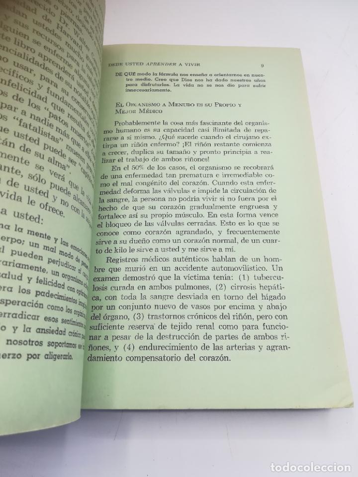Libros de segunda mano: VIVA MAS Y MEJOR. PETER J.STEINCROHN, M.D. 1º ED 1958. COMPAÑÍA EDITORIAL CONTINENTAL. RUSTICA - Foto 7 - 262717205