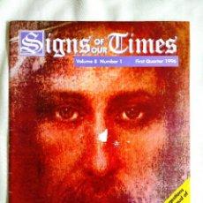 Libros de segunda mano: 1996 - REVISTA SIGNS OF OUR TIMES. Lote 262909410