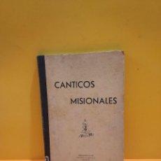 Libros de segunda mano: CÁNTICOS MISIONALES...OBRAS MISIONALES PONTIFICIAS...... Lote 263553145