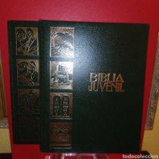 Libros de segunda mano: BIBLIA JUVENIL - ANTIGUO Y NUEVO TESTAMENTO - 2 TOMOS -. Lote 264258080