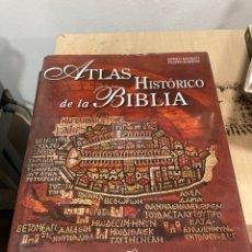 Libros de segunda mano: LIBRO ATLAS HISTÓRICO DE LA BIBLIA. Lote 264309168